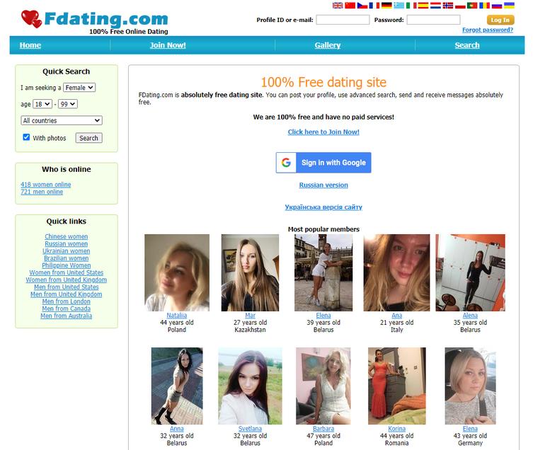 FDating Review 2021- Dating-Network.com