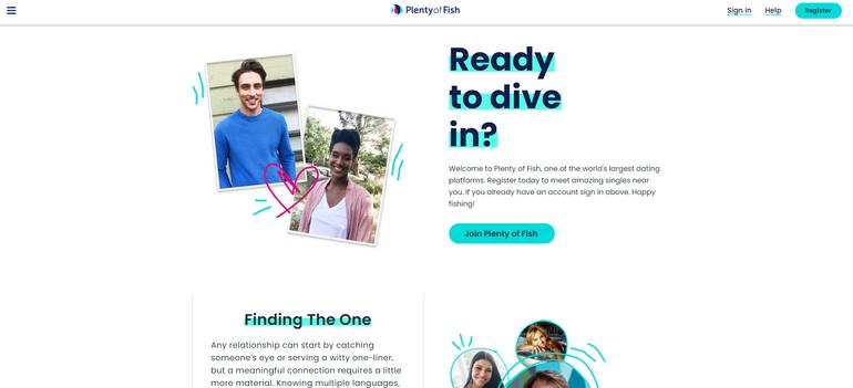 Plenty of fish dating network free dating site singles - mingle2.com